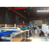 China Plastic PVC Corrugated Roofing Sheet Making Machine For Farmer Market Roofing Panel on sale
