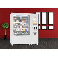 Cheap Bus Station Mini Mart Vending Machine , Snack Vending Kiosk With Big Touch Screen for sale