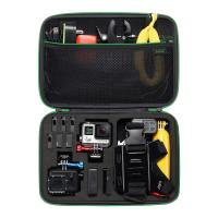 Best Black Large Camera Carrying Case , Portable Nylon EVA Travel Camera Case wholesale