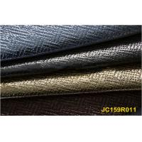Best stitching square foiled pu leather with knitted backing for shoes and bags wholesale