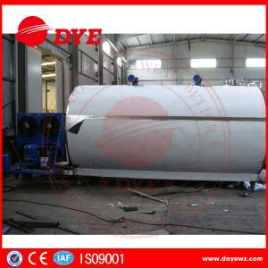 Best Large Capacity 2000L 3000L 5000L Milk Cooling Tank Refrigeration Compressor wholesale