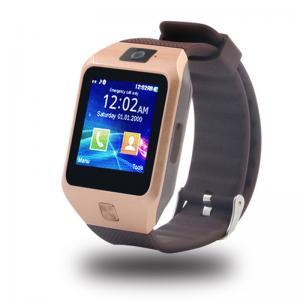 China China supply bluetooth 3.0 1.44  Touch Scree call phone watch dz09s sim card bluetooth smart phone watch 128M+64M meory on sale