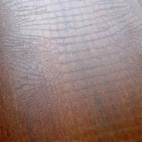 China Laminate flooring, crocodile surface of 1215x295x8.3mm, straight edge, popular design on sale