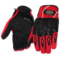 Buy cheap Women Motorcycle Gloves Sport Racing Leather Riding Gloves With Reflective from wholesalers