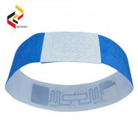 Best Disposable RFID Paper Bracelet One Time Used Band/Soft dupont tyvek NFC Wristband wholesale