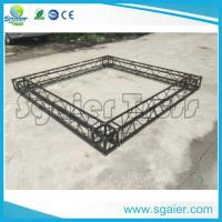 China Black Structural Aluminum Truss Display For Exhibition Trade Show Booth on sale