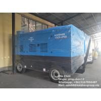 Best Diesel Engine Direct Driven Mobile Double Stage Portable Screw Air Compressor wholesale