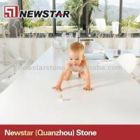 Best Cheap polished white artificial quartz countertop wholesale