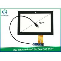 Best USB IIC Interface Capacitive Touch Panel , 10.1'' Projected Capacitive Touch Screen wholesale