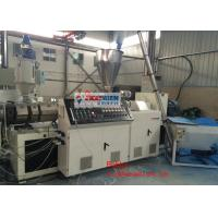 China Plastic Corrugated Roof Sheet Machine with Extruder , Flat Die 350kg/h - 650kg/h on sale