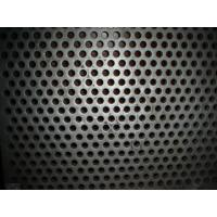 China SUS304 316 Stainless Steel Perforated Sheet For Ceiling / Shelves , pvc coated wire mesh on sale