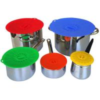 Best Food Fresh Silicone Cooking Lids For Bowls , Eco - Friendly Silicone Cup Lids wholesale