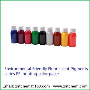 Best Environmental Friendly Fluorescent Pigments series EF  printing color paste wholesale