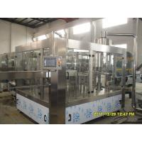 China Industrial Soda Water Filling Machine / Sparkling Water Processing Equipment on sale