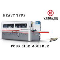 6 Head Four Side Planer Woodworking Machine 330 Mm Working Width For Wooden House