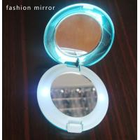 Best Hight quality round double sided compact mirror with LED lights wholesale