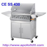Best Outdoor Gas Grill 4burner with side burner wholesale