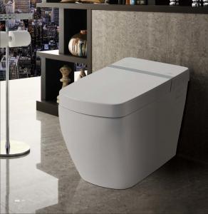 Best HW501 Luxury Bathroom Auto Lid instant heating Smart Intelligent Toilet wholesale