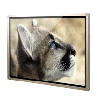 China 55 Inch Industrial Wall Mount Windows 10 Infrared IR Touch Screen All In One Computer PC Commercial Usage on sale