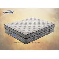 Best Knit Fabric Compressed Zone Queen Euro Top Mattress With Bamboo Fabric wholesale