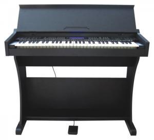 Best Black 61 Key Electronic Keyboard Piano Small Upright Piano RoHS / LVD / EMC MK-933 wholesale