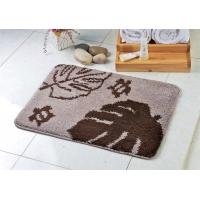 China Restaurant customized non slip bathroom floor mats of tufting process on sale
