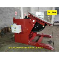 Best Heavy Duty Pipe Welding Positioners , Rotary Welding Table 15 Ton Capacity 5.5KW wholesale