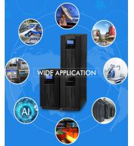 Best Pure Sine Wave Uninterruptible Bypass Power Supply Online Ups 50hz / 60hz Frequency wholesale