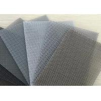 Best Durable Aluminum Window Screen Roll / Insect Screen Mesh 4ft X 100ft Size wholesale