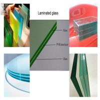 China Green on Light Green PVB film for car glass on sale