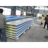 Best Corrosion Resistance Insulated  Steel Prefab House , Mineral Wool Sandwich Panel wholesale
