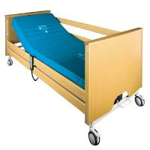 Best Individual Brake Electronic Nursing Bed , Anti - Pinch Medicare Hospital Bed Nursing Care Bed wholesale