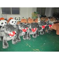 Best Coin Batteries For Kids Motorized Plush Riding Animals wholesale