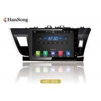 Best Android Car Video Player For Toyota Corolla 2014 , Toyota Dvd Navigation System wholesale