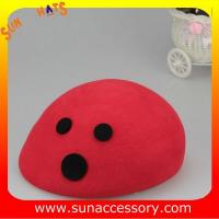 Best T5631228 Sun Accessory customized  winner  fashion 100% wool felt  beret, women hats and caps wholesaling wholesale