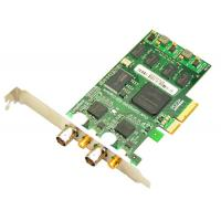 Buy cheap 3G/HD/SD SDI Video Capture Card with loop output, 2 ports PCI-Express 1080p/60hz from wholesalers