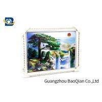 Cheap Beautiful Landscape 3D Lenticular Images , Stereograph Lenticular 3D Printing for sale