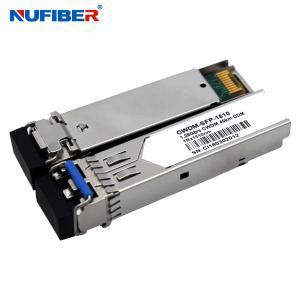 Best 80km 1.25G CWDM SFP Module Transceiver 1270nm-1610nm Duplex LC SM wholesale