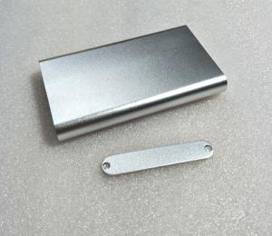 Best Sandblasted Extruded 6063-T5 Aluminium PCB Enclosure Box wholesale