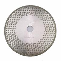 Best 7 Inch Electroplated Diamond Cutting & Grinding Blade Both Side Coated For Granite Marble wholesale
