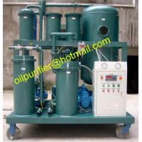 China High water content vacuum oil Purification Plant,Oil water separator,Oil Purifier,lubricant oil filtering machine on sale