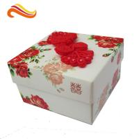 Best Personalized Wedding Paper Gift Packaging Boxes Rectangle for Festival wholesale
