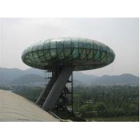 China National Wetland Museum Sightseeing Tower double toughened safety glass on sale