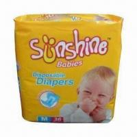 Best Super Absorbent Baby Diaper, Uses Imported Japan SAP and USA Wooden Pulp wholesale