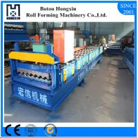 Best Electrical Motor Corrugated Roof Sheeting Machine 1000mm Raw Material Width wholesale
