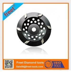 Best Rhomboid type Diamond Cup Grinding Wheels for stone wholesale