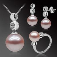 Best Pearl Jewelry Set with Fashionable Design, Ideal for Wedding, Party and Other Occasions wholesale