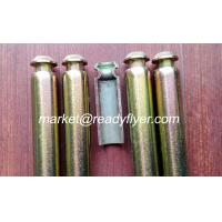 China dustbin axle, wheelie bin axle, MGB axle, garbage bin axle, hollow axle, solid axle on sale