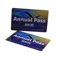 Best HF 13.56mhz Full Color Plastic Mifare RFID Smart Card ISO14443A Standard wholesale