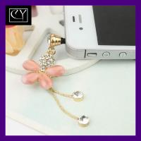 Best top selling wholesale new fashion mobile phone anti-dust plug wholesale